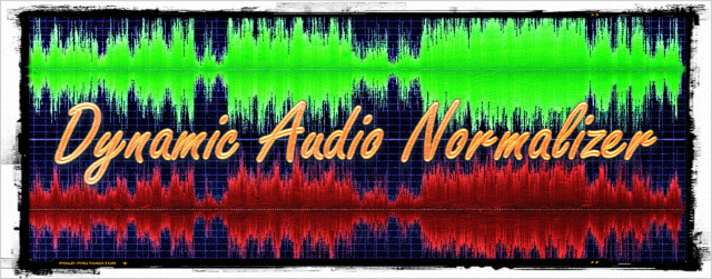 Dynamic Audio Normalizer